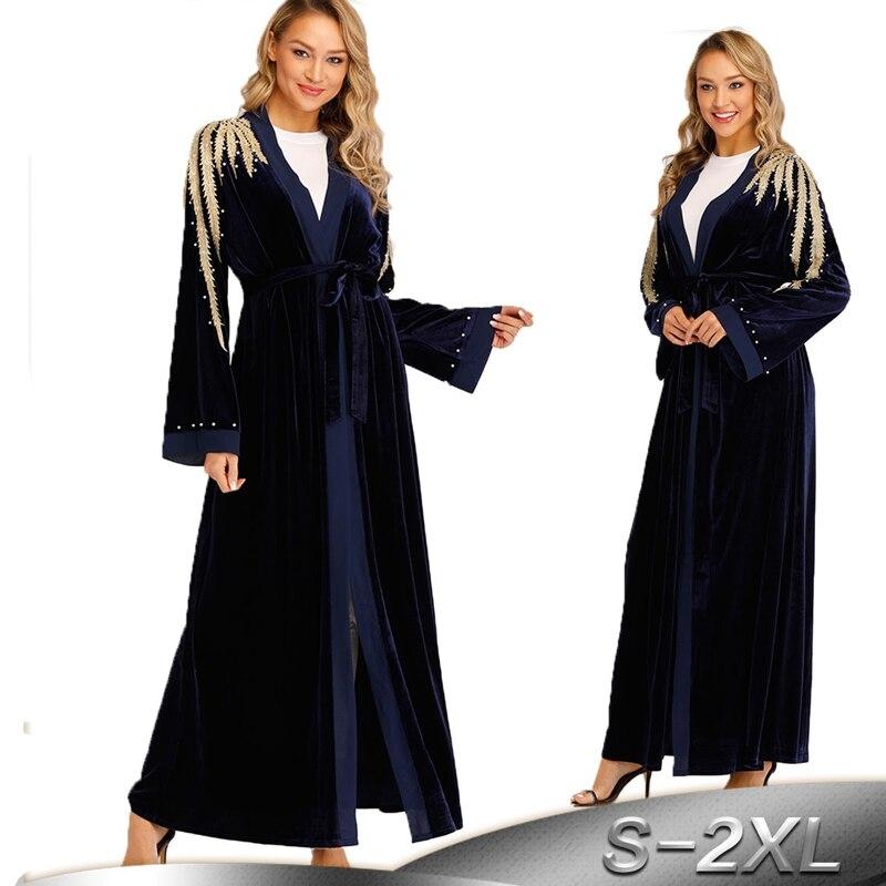 kaftan robe dubai abaya kimono muslim hijab dress abayas