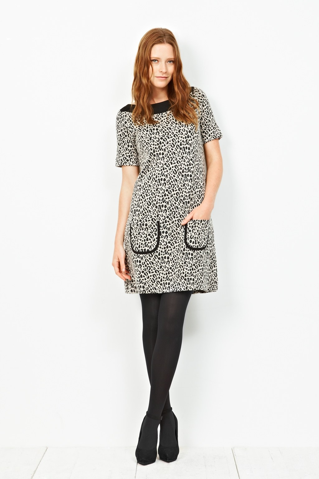 leopard love tunic dress women great plains