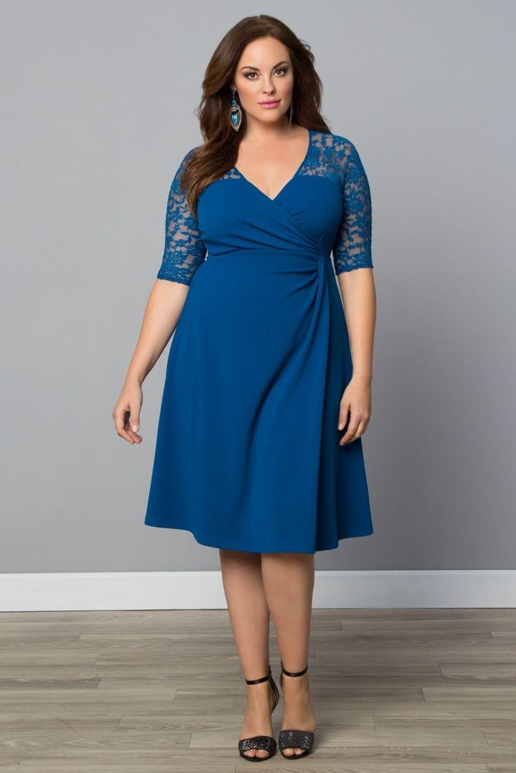 love a little lace try our plus size lavish lace dress