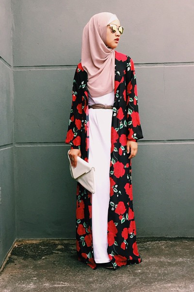 model baju kimono muslim