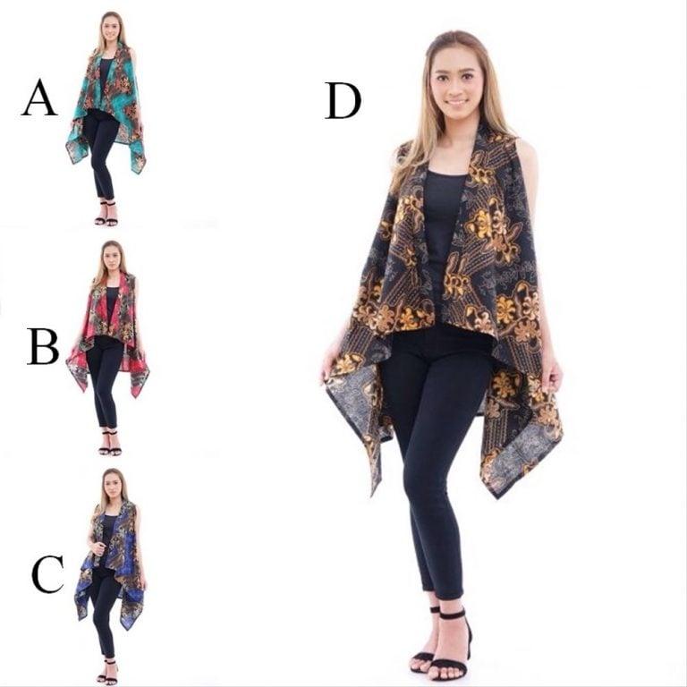 model rompi batik wanita modern eza batik