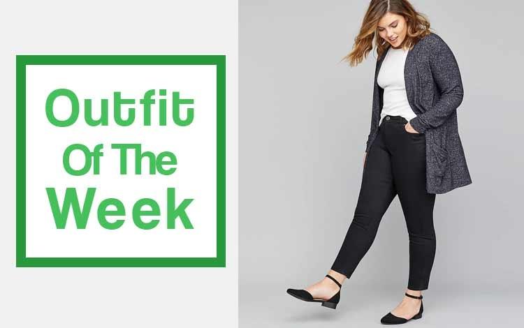 outfit of the week fashion harian untuk wanita gemuk agar