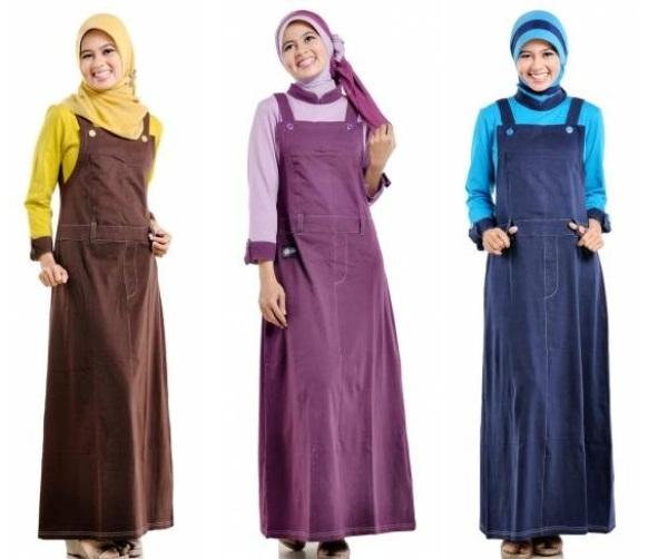 referensi model baju kodok muslim terbaru harian fashion 1