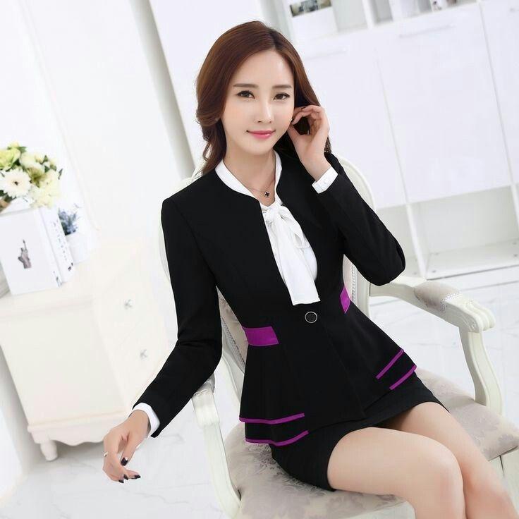 sekretaris cantik pakaian wanita blazer