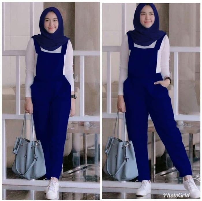 setelan baju jumpsuit panjang hijab remaja modern ryn