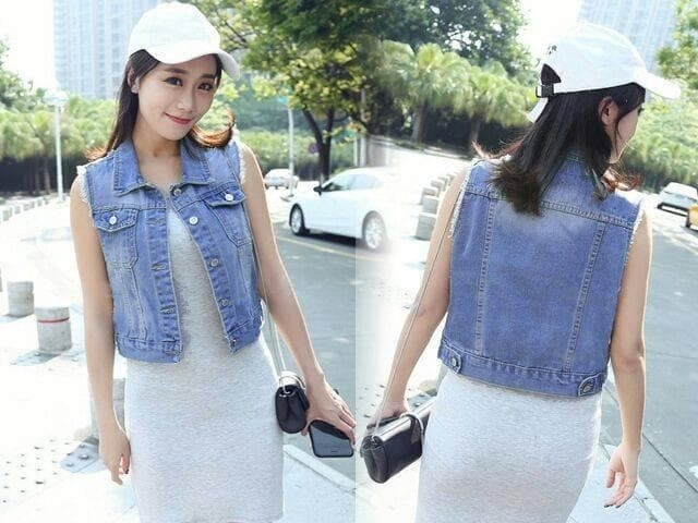 style rompi jeans trend fashion