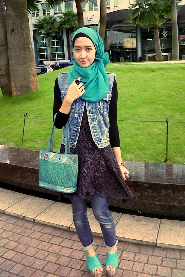 tips dan cara memakai jilbab atau hijab sederhana saat