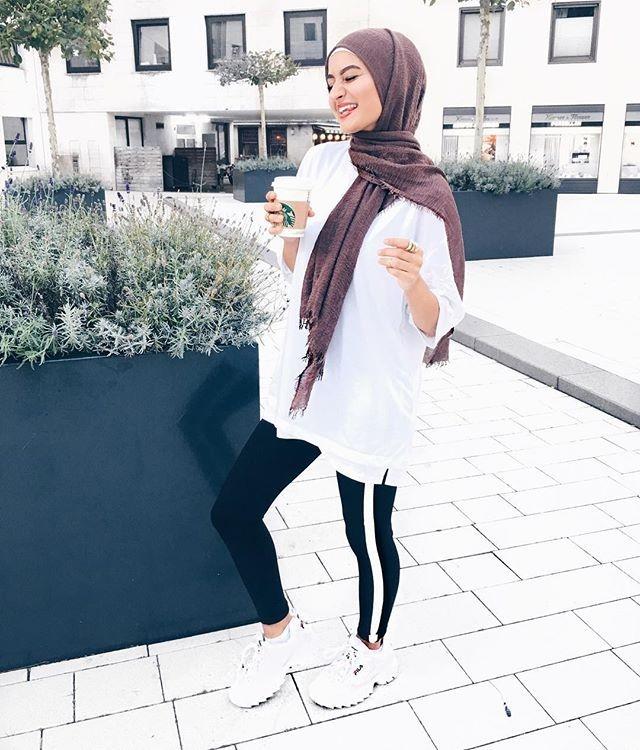 websta busraoyk hijab fashion hijabi outfits muslimah