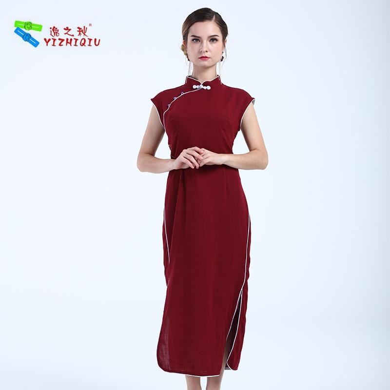 yizhiqiu oem summer floral modern cheongsam dress buy