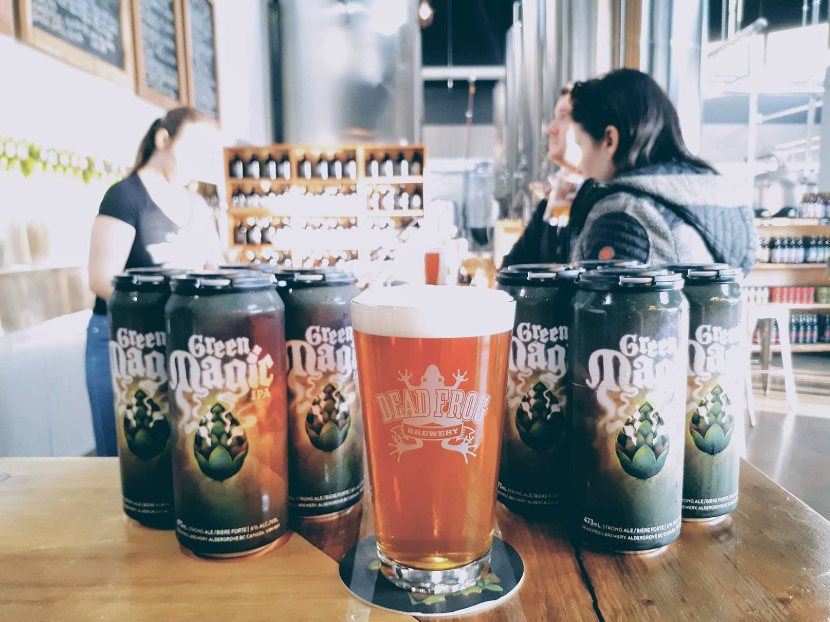 dead frog brewery experience langley