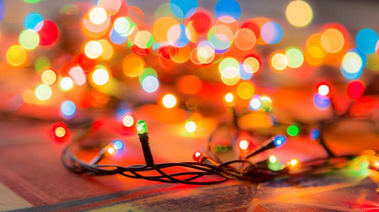 LED Christmas lights Langley experience