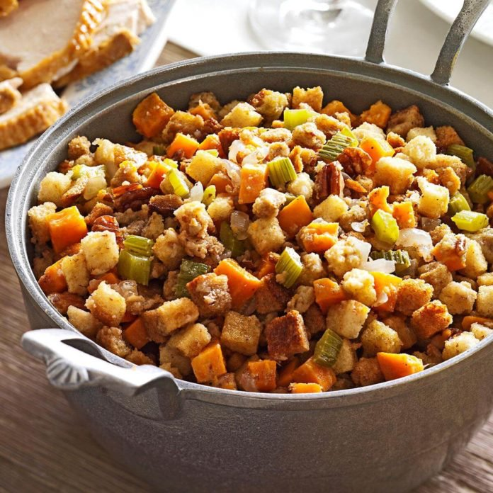 sweet potato slow cooker stuffing experience langley