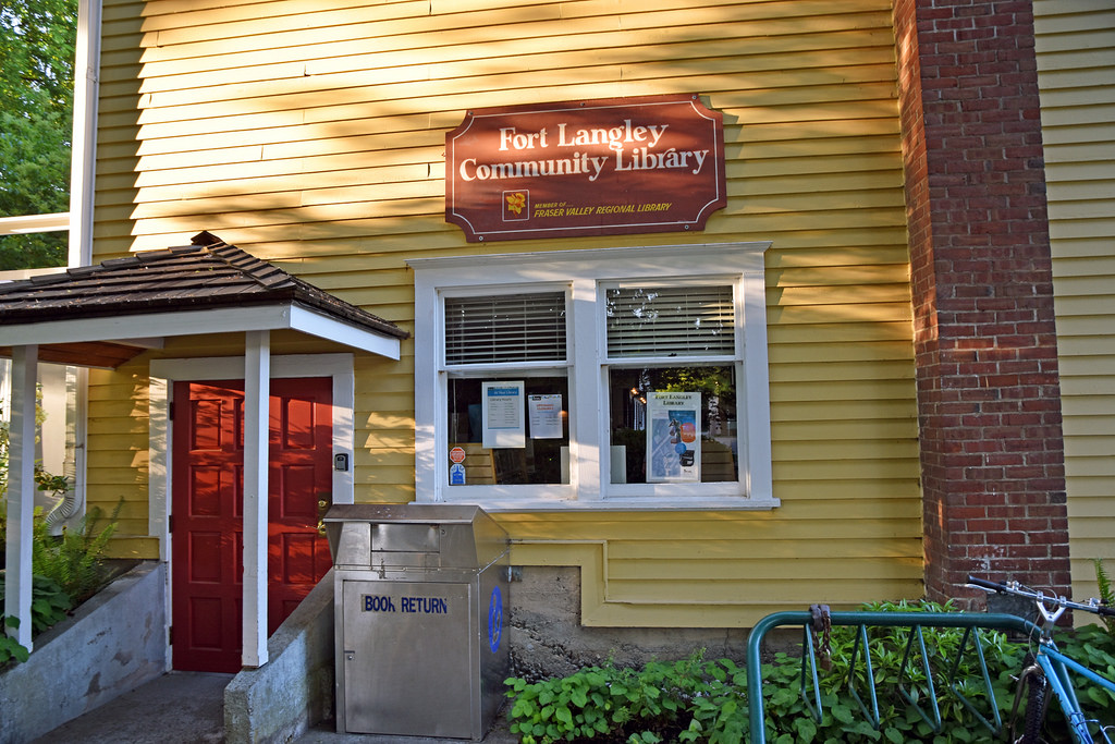 fort langley public library books reading