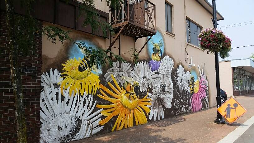 mural art langley
