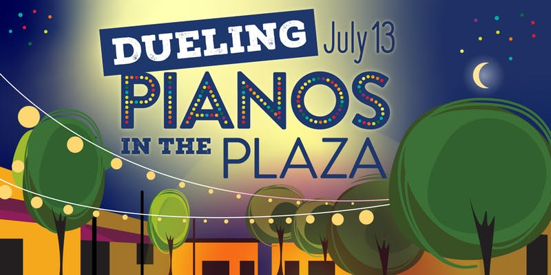 mcburney plaza summer series dueling pianos