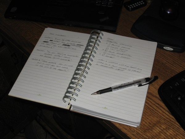 Writer's Notebook in Action | Dennis Langley's Blog