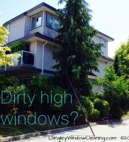 LangleyWindowCleaning.com – High Window washing