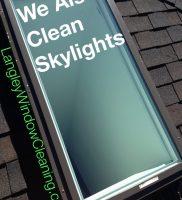 LangleyWindowCleaning.com Skylight after
