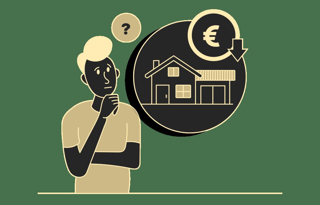 Wann sollte man den Preis der Immobilie senken