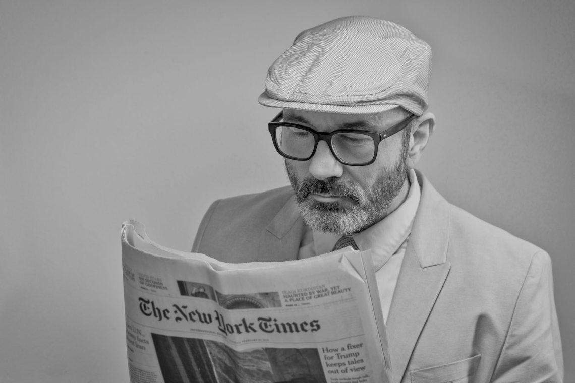 newspaper anglais