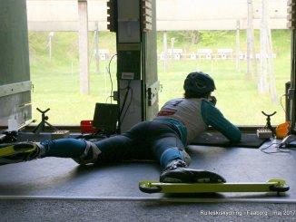 Der blev skudt igennem ved rulleskiskydning i Faaborg i starten af maj 2017