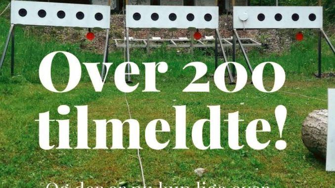 Over 200 er nu tilmeldte til skiskydning i løbesko i Ballerup