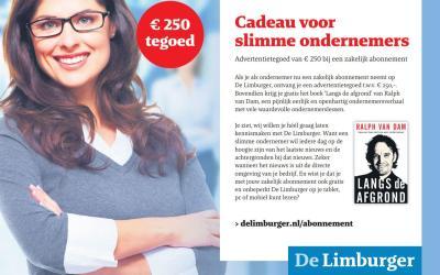 Boek cadeau bij dagblad De Limburger