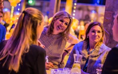 Koningin Máxima aanwezig bij 'Gelderland Groeit'