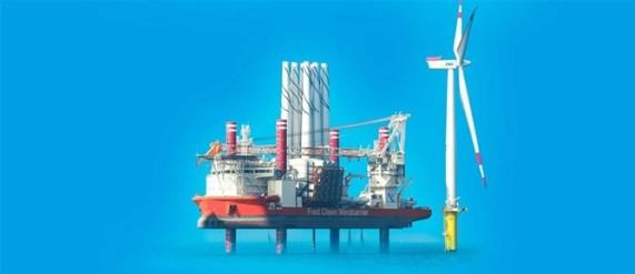 Installationsskepp för vindkraftsparker