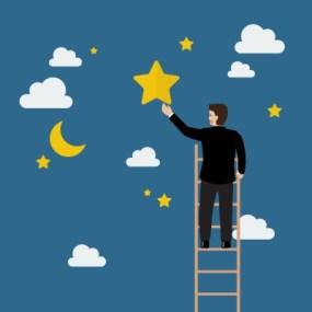 Att sikta mot stjärnorna och våga förverkliga sina drömmar