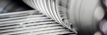 slitted aluminium strips