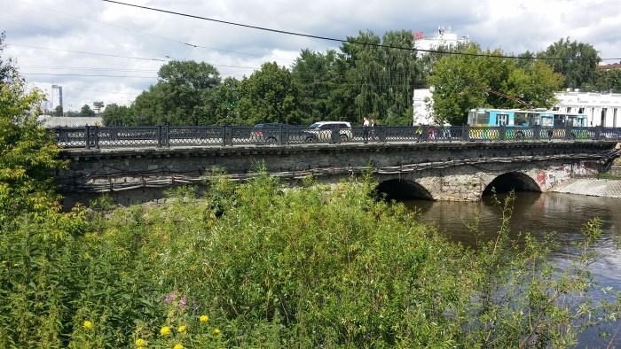 Самый старый каменный мост в городе