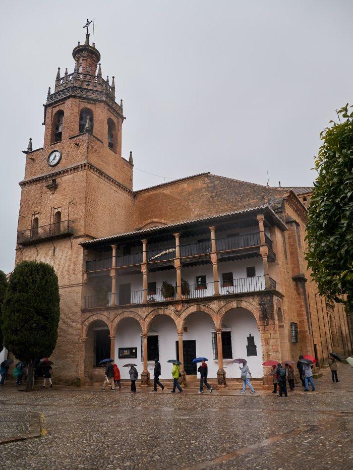 В историческом центре города Ронда