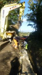 Priest's Way gully repairs