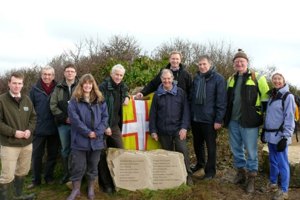 Priest's Way group at opening