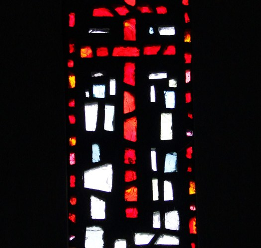Ipsden Church, Modern Stained Glass