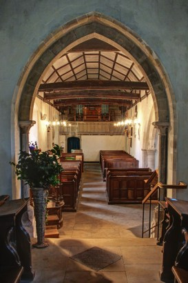 Ipsden Church Interior, South End
