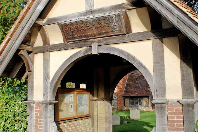 Whitchurch on Hill Lychgate