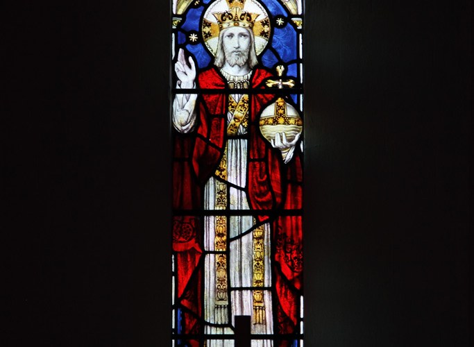 Stained glass,Woodcote Church, Woodcote Church Photo Gallery