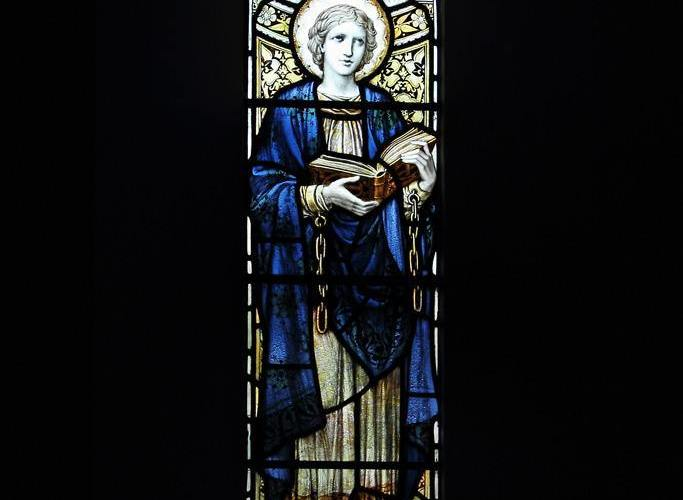 Stained Glass, St Leonard's Church