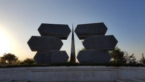 Soldiers and Partisans Memorial at Yad Vashem Museum, Jerusalem.