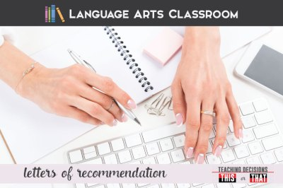 Writing a Letter of Recommendation for Students