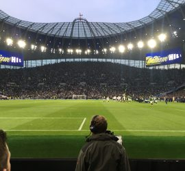 South Stand at Tottenham