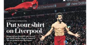 Put your shirt on Liverpool