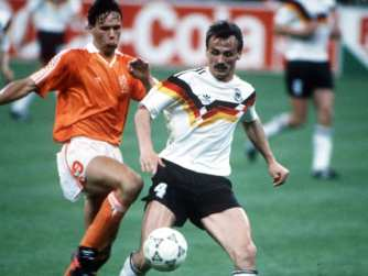 1990 World Cup Netherlands v West Germany