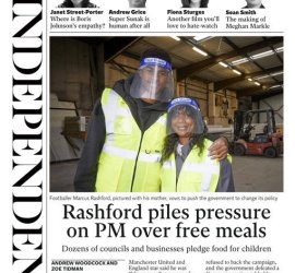 Rashford Piles Pressure on PM over Free Meals