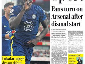 Fans turn on Arsenal after dismal start