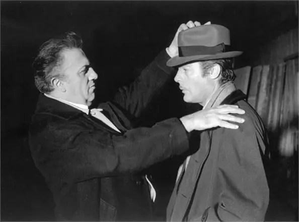 Mastroianni alter ego di Federico Fellini