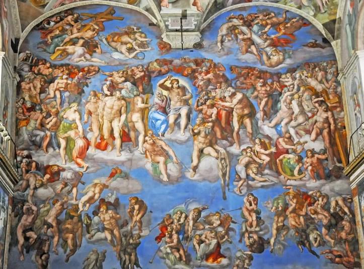 Cappella Sistina, Giudizio Universale.