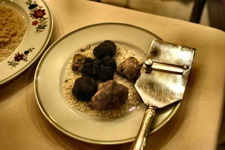 I tartufi bianchi e neri